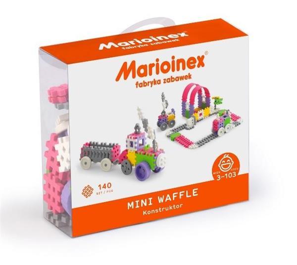 Mini Waffle 140 elementów Konstruktor Dziewczynka