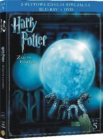Harry Potter i Zakon Feniksa (Blu-ray+DVD)