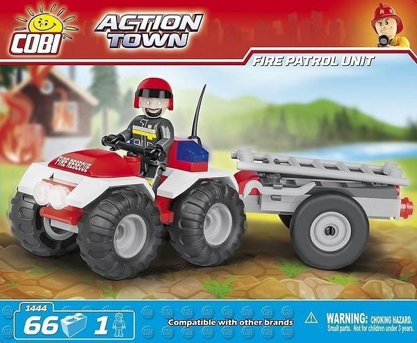 Action Town Strażacki quad patrolowy