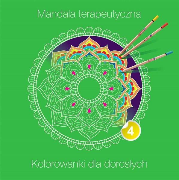 Mandala terapeutyczna 4. Kolorowanka dla dorosłych