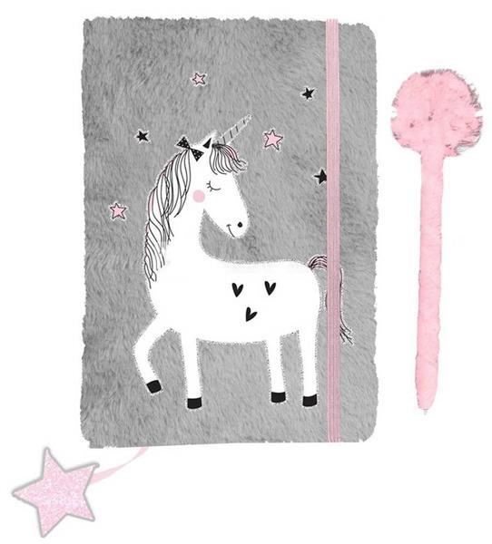 Pamiętnik pluszowy Unicorn PP19UN-3673 PASO
