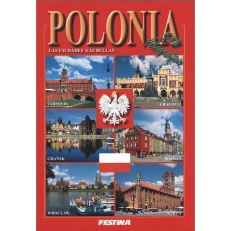 Polska. Najpiękniejsze miasta. Wersja hiszpańska