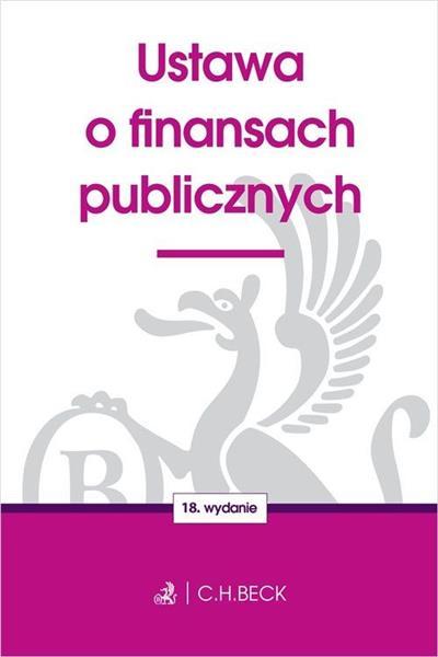 USTAWA O FINANSACH PUBLICZNYCH, WYDANIE 18