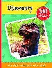 100 naklejek. Dinozaury