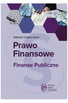 PRAWO FINANSOWE FINANSE PUBLICZNE