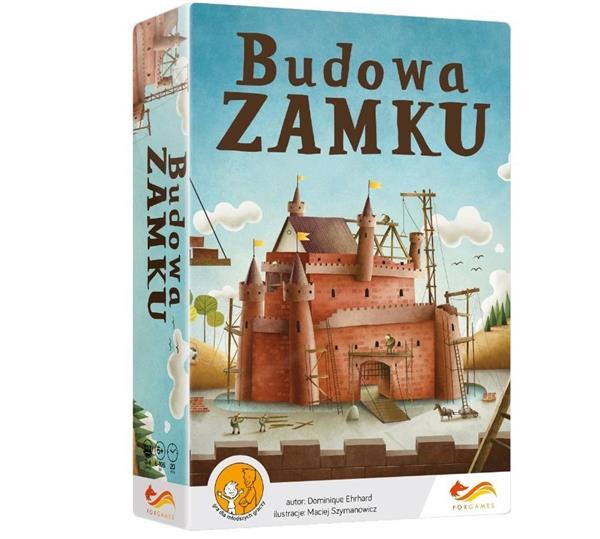 Gra - Budowa zamku (oprawa miękka)