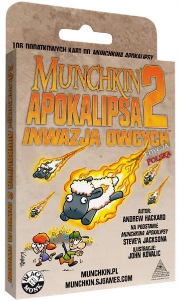 Munchkin Apokalipsa 2  BLACK MONK