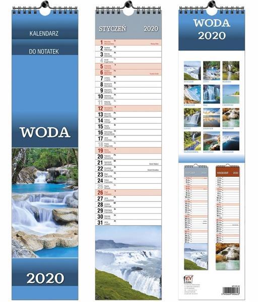 Kalendarz 2020 13 Plansz paskowy - Woda EV-CORP