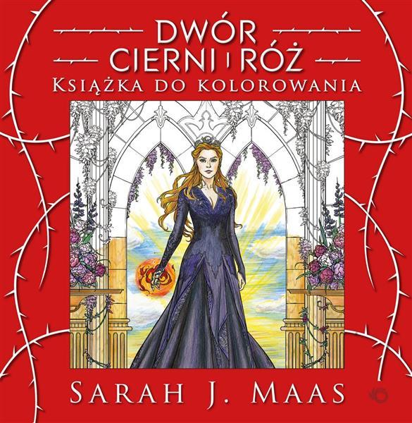 Dwór cierni i róż. Książka do kolorowania-26715
