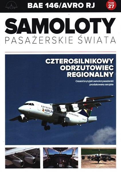 Samoloty pasażerskie świata T.27 BAE 146/Avro RJ-316762