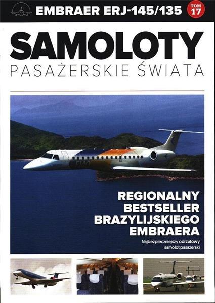 Samoloty pasażerskie świata T.17 Embraer 145/135-301055