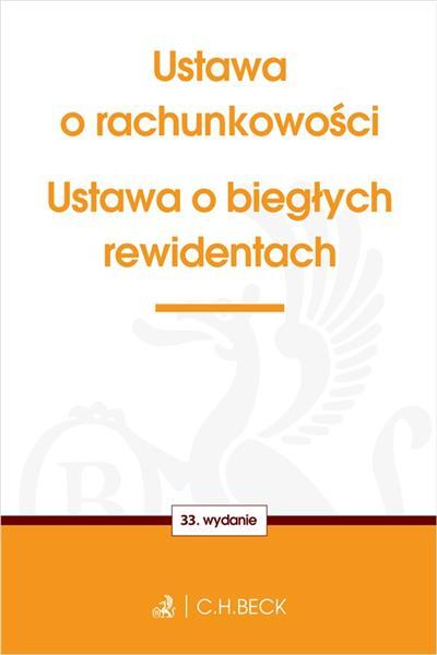 USTAWA O RACHUNKOWOŚCI ORAZ USTAWA O BIEGŁYCH REWI-34810