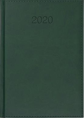 Kalendarz 2020 Książkowy A4 tygodn. Vivo zielony-348687