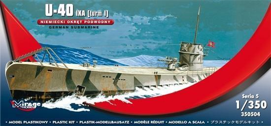 Okręt Podwodny U-40 Niemiecki-304436