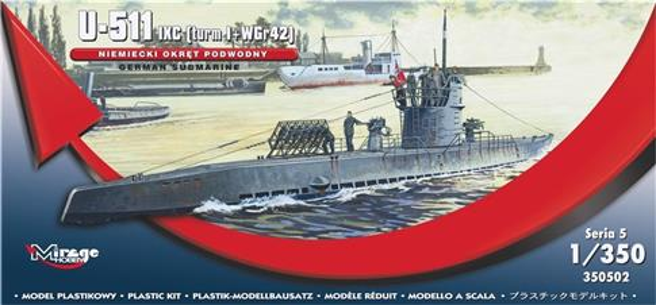 Okręt Podwodny U-511 Niemiecki-304413
