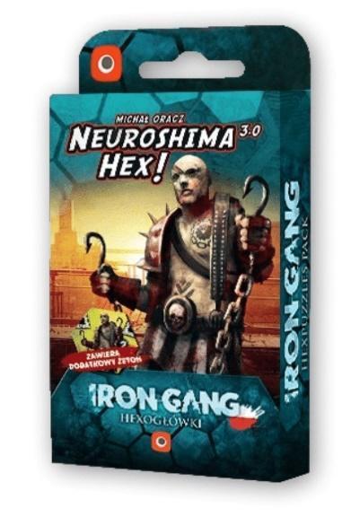 Neuroshima Hex 3.0: Iron Gang Hexogłówki PORTAL