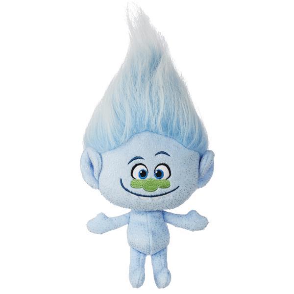 Hasbro Trolle - Laleczka pluszowa niebieskie włosy