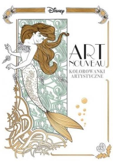 Art nouveau. Kolorowanki artystyczne
