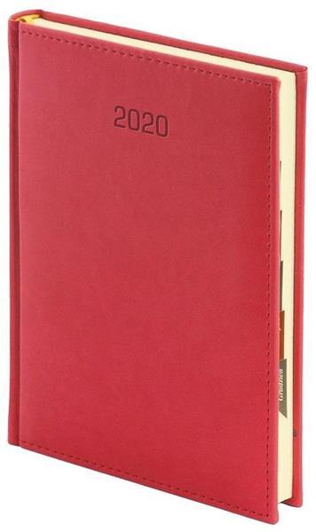 Kalendarz 2020 A4 Tygodniowy Vivella Czerwony