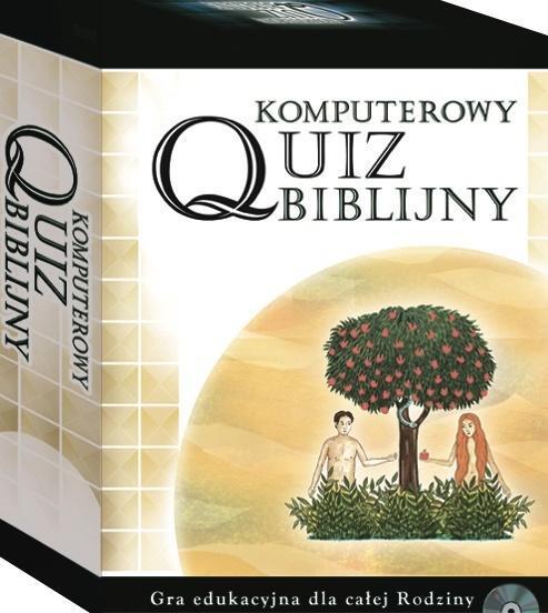 Komputerowy Quiz Biblijny. Gra edukacyjna CD