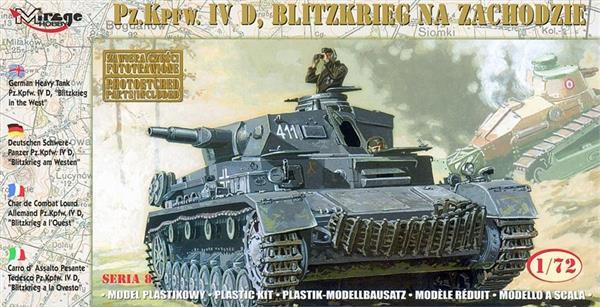 Czołg Średni Blitzkrieg na zachodzie Niemiecki