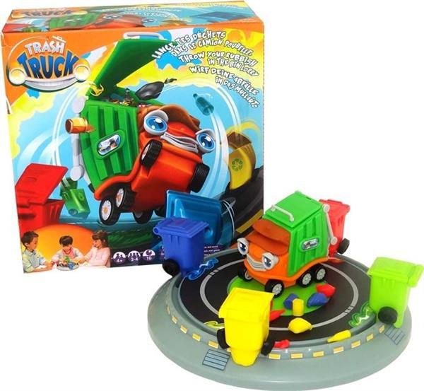 Gra 3D Zakręcona śmieciarka
