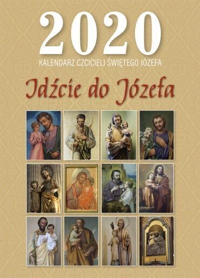 Kalendarz 2020 Idźcie do Józefa