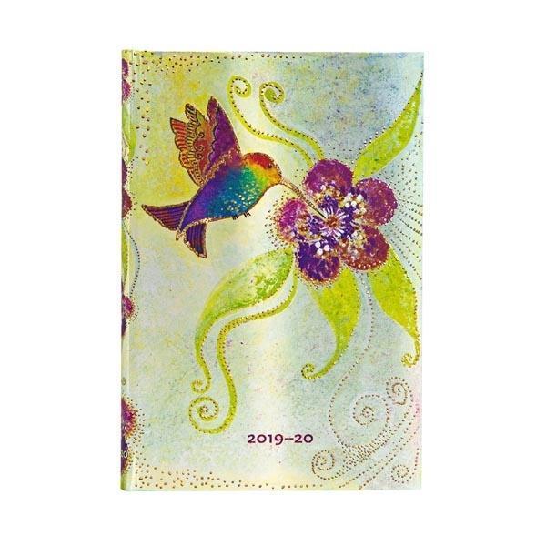 Kalendarz książkowy mini 2019-2020 Hummingbird