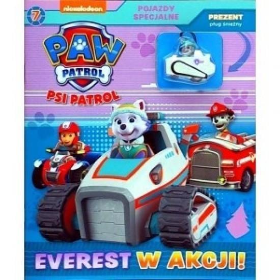 Psi Patrol. Pojazdy specjalne 7 Everest w akcji Ou