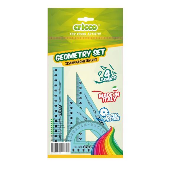 Zestaw geometryczny 4 elementy CRICCO
