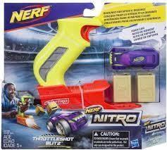 Nerf. Nitro Throttleshot, żółta