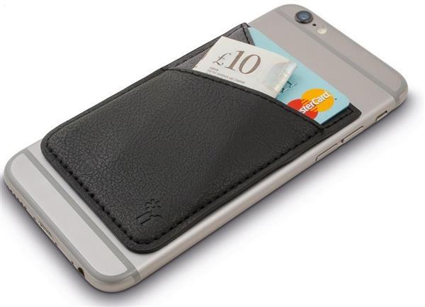 Bookaroo Phone Pocket Portfel na telefon czarny
