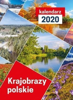 Kalendarz 2020 Ścienny Krajobrazy polskie
