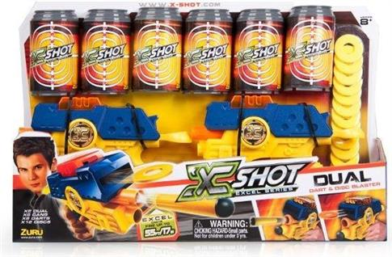 X-Shot Podwójny Dual