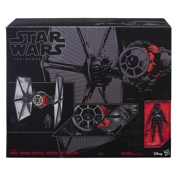 Stars Wars E7 Black Series - mega statek
