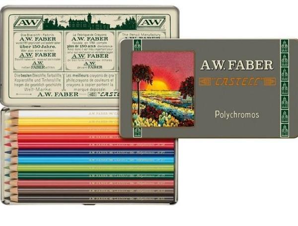 Kredki Polychromos 12 kolorów ed. limitowana