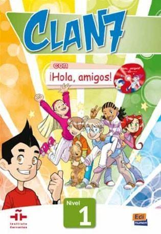 Clan 7 con Hola amigos 1 podręcznik + CD MultiROM