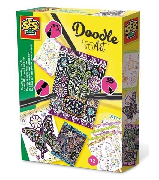 Kreatywna zabawa - Sztuka Doodle