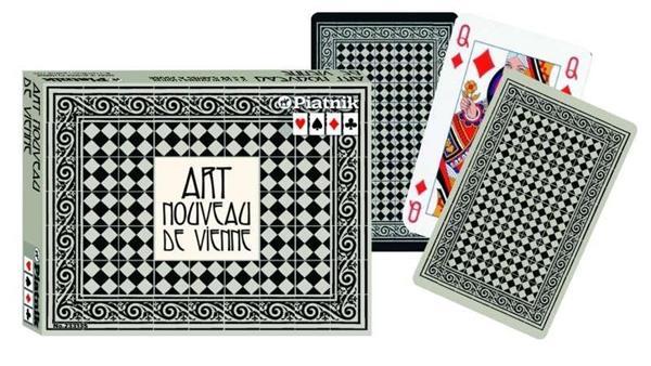 Karty international Art Nouveau de Vienne PIATNIK