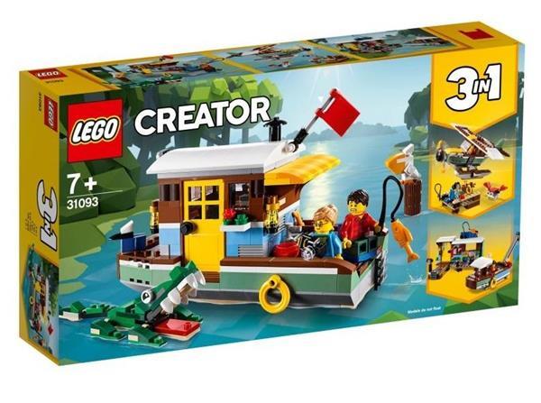 Lego CREATOR 31093 Łódź mieszkalna 3w1