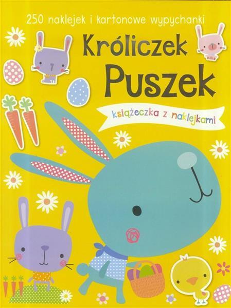 250 naklejek - Króliczek Puszek