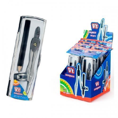 Cyrkiel metalowy + ołówek