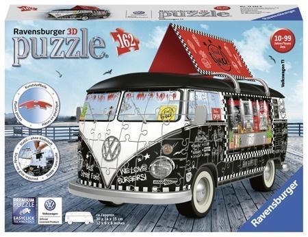 Puzzle 3D Food Truck 162 elementy