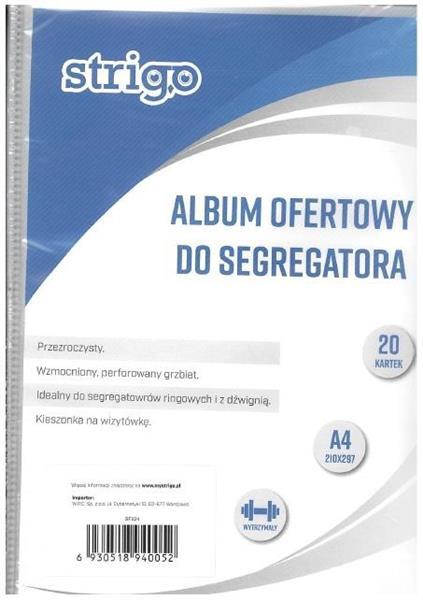 Album ofertowy A4 koszulek STRIGO