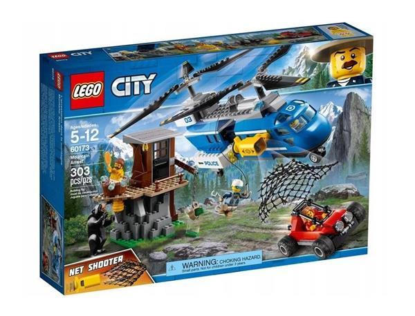 Lego CITY 60173 Aresztowanie w górach