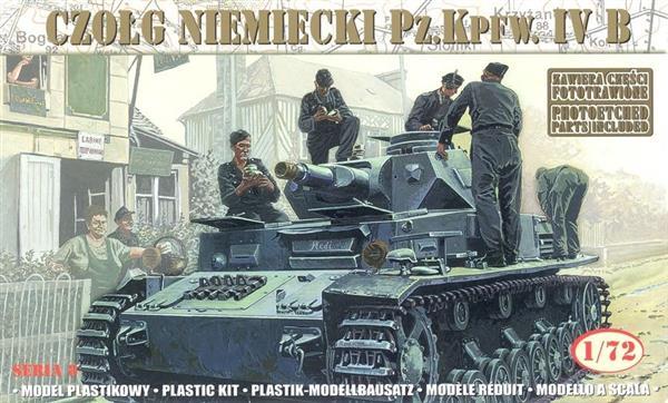 Czołg Pz.Kpfw.IV B Niemiecki