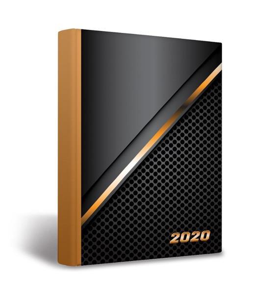 Kalendarz 2020 książkowy A5 Universal OXFORD