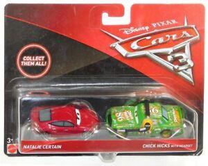 Mattel - Cars Auta 3 Natalie Certain i Chick Hicks