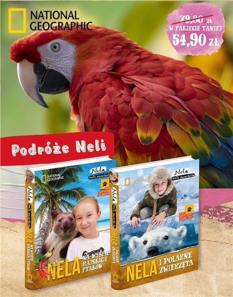 Pakiet 4:Nela i polarne zwierzeta/Nela na wyspie..