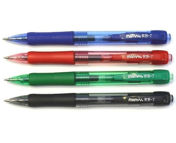 Długopis RB-7 niebieski (24szt) UCHIDA